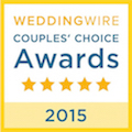 Wedding Wire Couples Choice Winner 2015