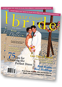 Gulf Coast Bride Wedding