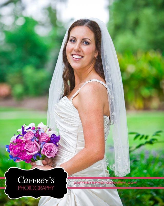 Outdoor Bridal portrait in Houston TX