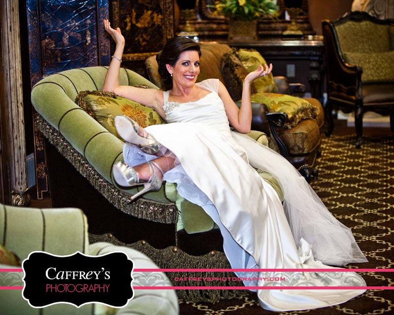 Fun Bridal Portrait session in Houston
