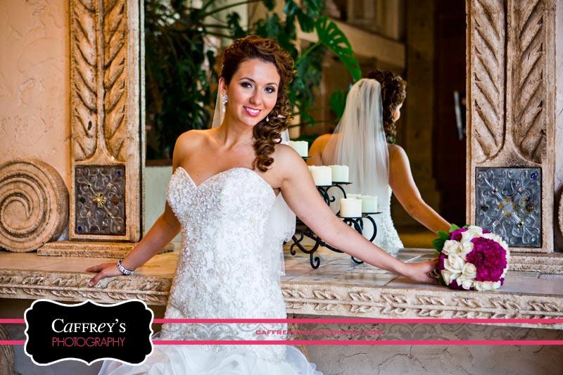 Elegant Bride picture at Las Velas in Houston