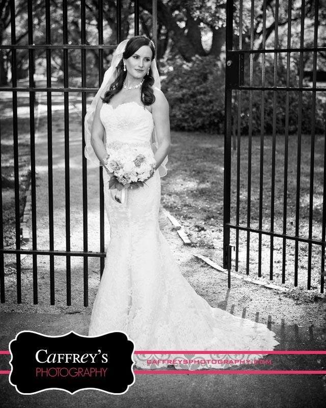 Stunning bridal portraits at Rice University