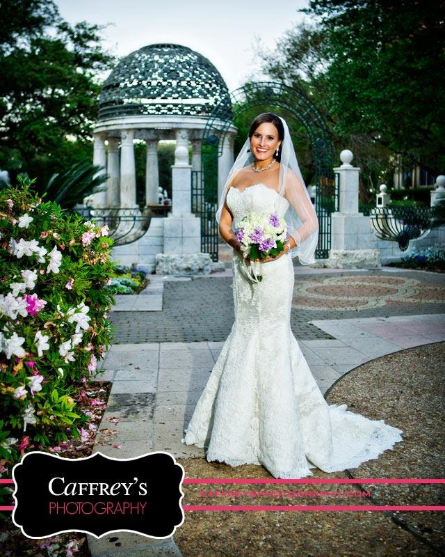 Elegant bride in Houston
