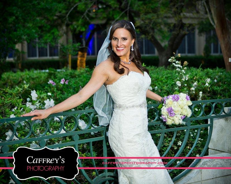 Radiant bride in her bridal portraits in Houston