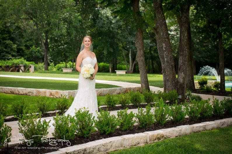 Houston wedding photographer The Springs Events Bridals Katy Tx Garden Bridal Portraits