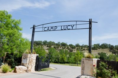 Texas Hill Country Wedding Camp Lucy